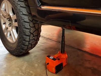 Fácil elevación del coche